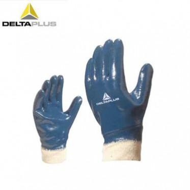 代尔塔201155重型丁腈全涂层防油防滑耐磨隔热劳保防护工作手套