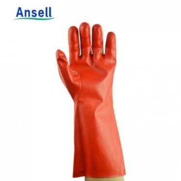 安思尔手套15-554 PVA耐溶剂实验室丙酮甲醛甲苯防化劳保护手套